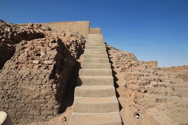 수단 세세비에 있는 고대 이집트 사원 유적