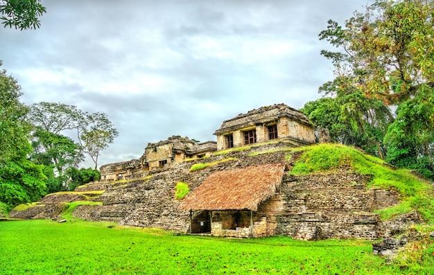 メキシコの古代マヤの都市、チアパス州のパレンケ遺跡