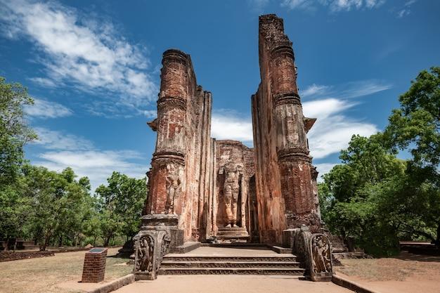 역사적인 도시 polonnaruwa, 스리랑카의 유적