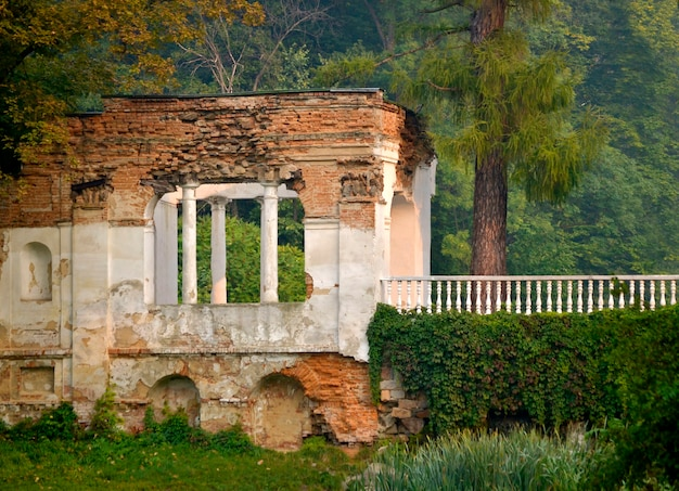 Ruins in the park