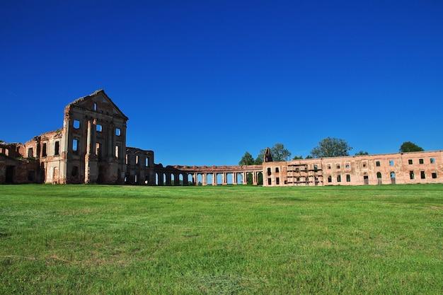Ruins of ruzhany palace, belarus