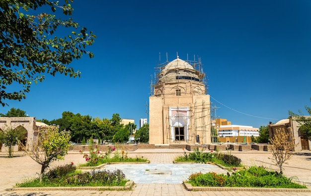 Мавзолей рухабад в самарканде узбекистан