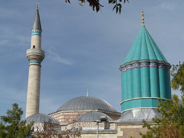 Rumi mausoleum jalal mosque mevlana ad din konya