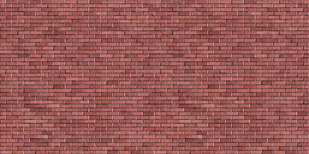 ランニングボンド赤レンガ壁シームレスパターン背景テクスチャ
