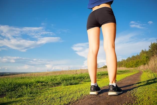 달리기 야외 훈련 조깅 여성