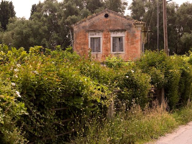 Rural home in corfu