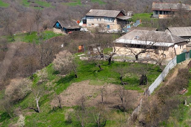 채소밭이 있는 시골집