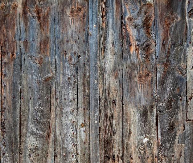 農村の古い、グランジの木製パネル