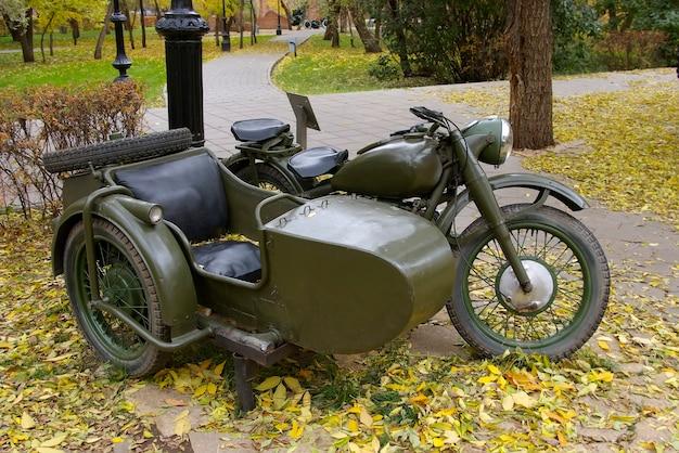 ロシア軍のオートバイ m-72