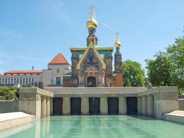 Russian chapel in darmstadt