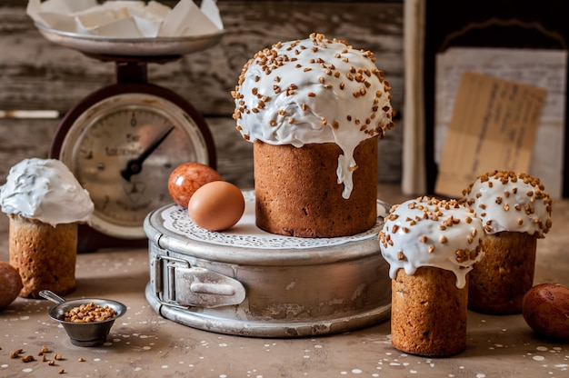 Russian easter bread, kulich