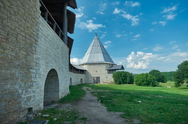 러시아 요새 오래 된 ladoga, staraya ladoga city.volkhov 지역, 러시아입니다.