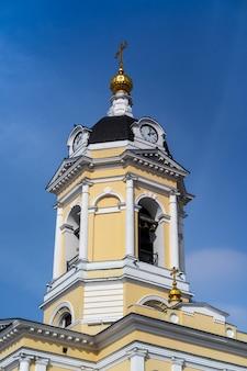 Russian orthodox vysotsky men monastery in serpukhov