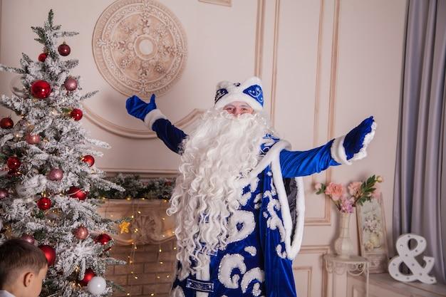 Русский дед мороз, известный как дед мороз
