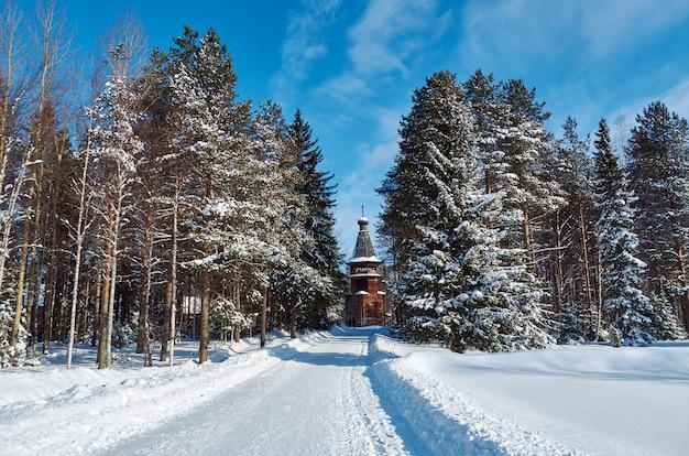 러시아 전통 목조 건축, malye karely 마을, arkhangelsk 지역, 러시아