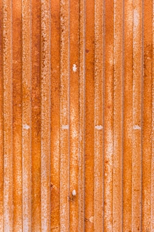 Rust coated metal surface with lines