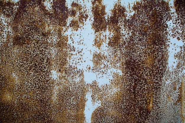 Rust on an old sheet of metal texture background