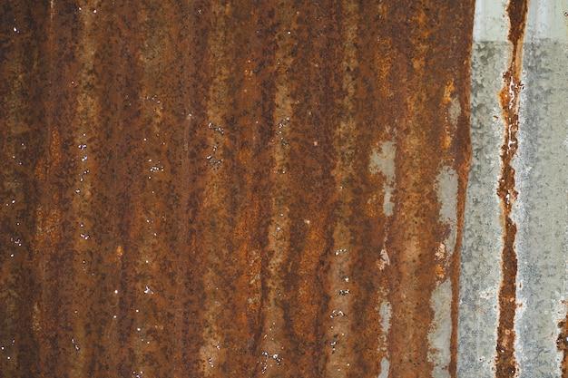 鋼板の錆鉄板表面と錆
