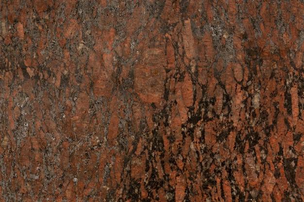Rust peeling off metal surface