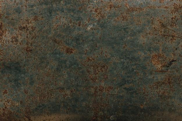 Rust on steel plate