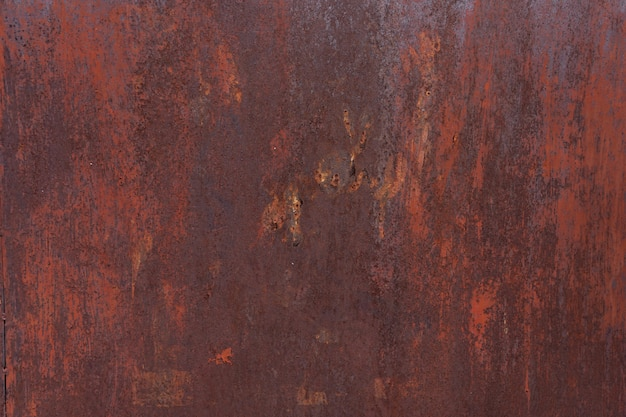 Rust on steel