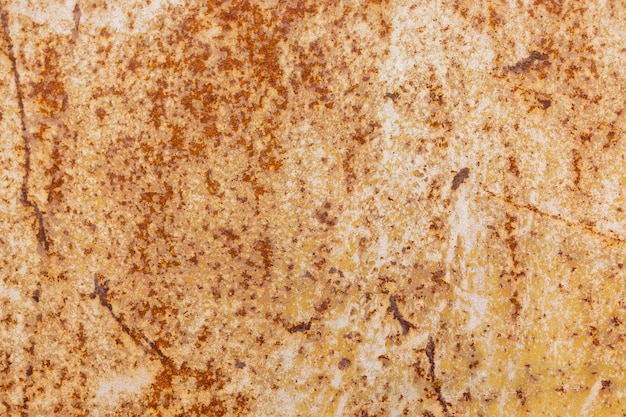 Rust texture as a metal plate background