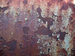 Ржавчины текстуры, ржавые