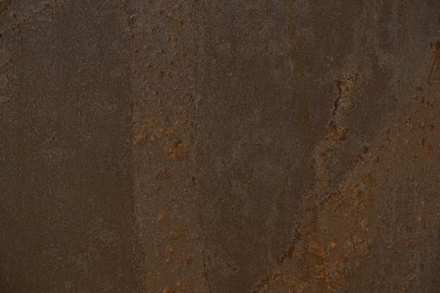 Rust wall, details of rusty metal surface background
