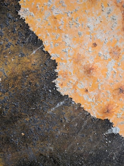 Rusted iron plate