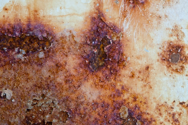 Rusted melal texture.