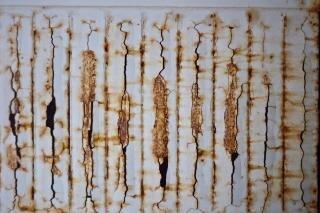 Ржавые текстуры стали