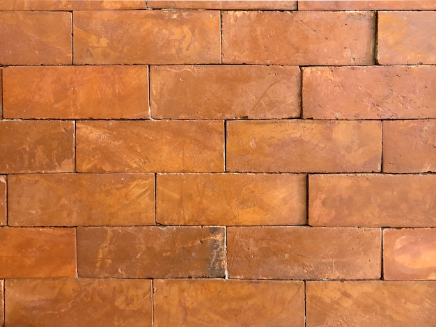 소박한 벽돌 벽 배경