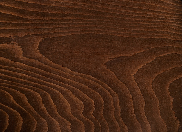 Struttura di legno marrone scuro rustico vicino colpo, tavolo o altri mobili