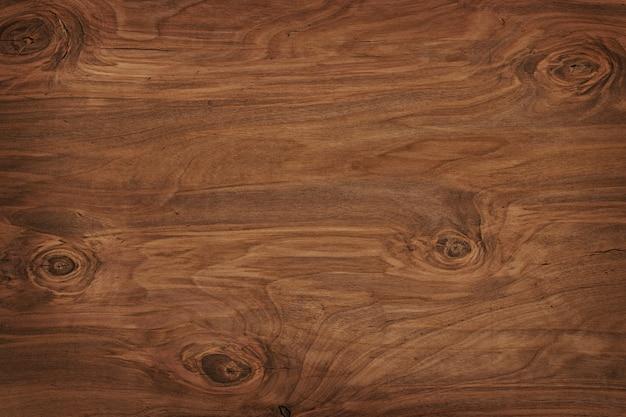 素朴なダークウッドの床板の質感