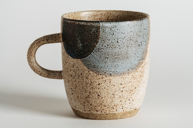 Rustic speckled mug design resource