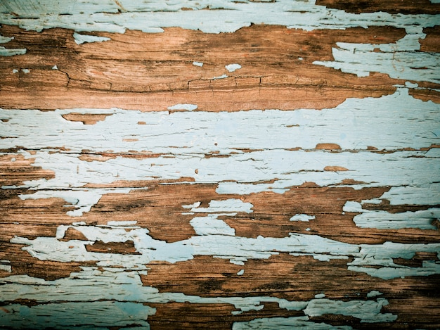 Rustic wood background with old color