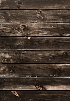 Rustic wooden horizontal stripes background