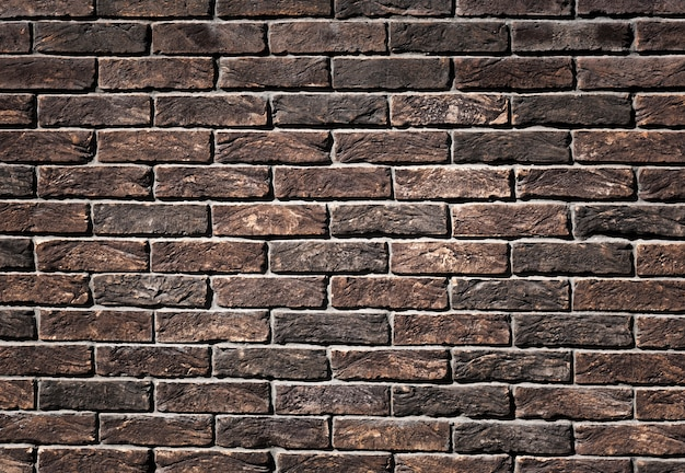 Rusty brown brickwork background texture