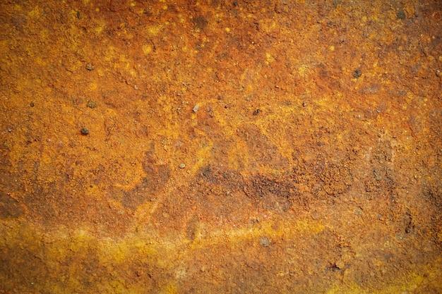 녹의 줄무늬와 녹슨 금속 배경 녹 얼룩 오래 된 금속에 rysty 부식 녹