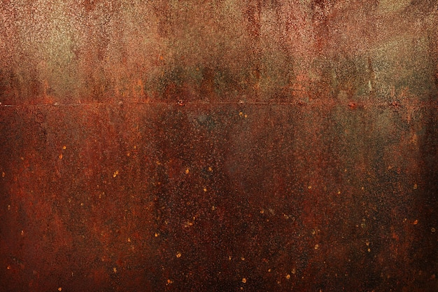 Rusty metal cooper texture background.