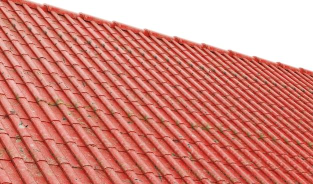 배경 3d 렌더링으로 녹슨 금속 지붕 지붕