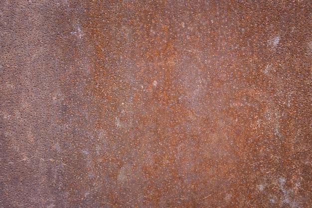 Rusty metal sheet.