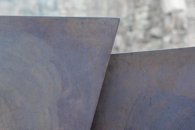 산만 배경 녹슨 금속 구조