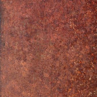 さびた金属表面の背景。素朴な鋼の質感