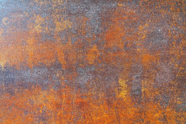 さびた金属の質感。金属表面。さびた背景。