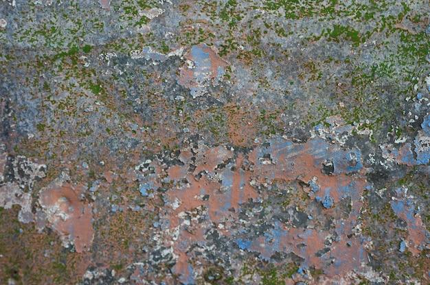 Ржавая металлическая стена. фон старого металла