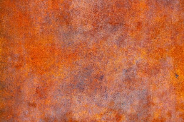 녹슨 금속 벽 오래 된 철판 배경