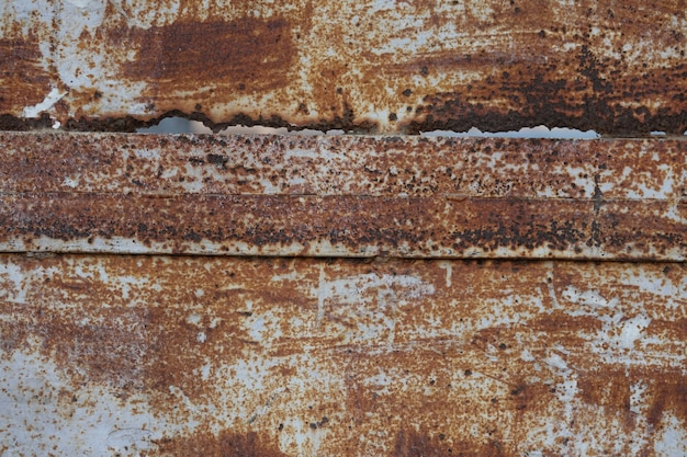 Rusty metallic texture