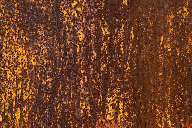 Rusty metallic textured background