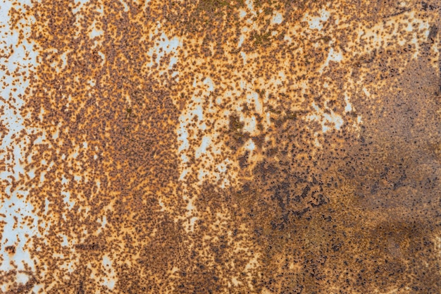 Rusty metallic textured wallpaper